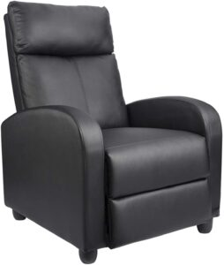 Homall Single Leather Recliner Chair for Living Room