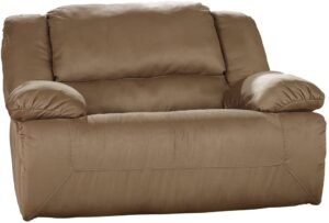 Ashley Signature Furniture Design – Hogan Oversized Recliner (Best Recliner For Sitting More Than One)