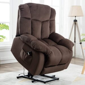 CANMOV Power Lift Recliner Chair (Best Extra Cushy Recliner for Tall Man)