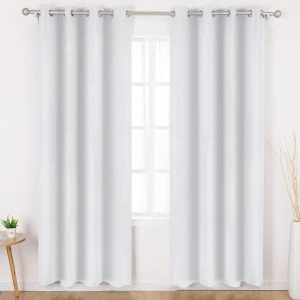 WHITE BLACKOUT CURTAINS of 2021